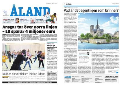 Ålandstidningen – 17 april 2019