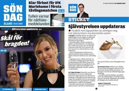 Ålandstidningen – 26 januari 2020