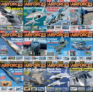 Airforces Monthly - Full Year 2019 Collection