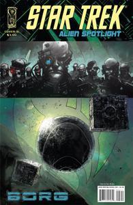 Star Trek Alien Spotlight-Borg 2008 4 covers Digital Cypher