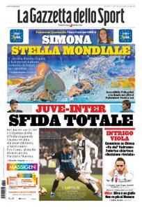 La Gazzetta dello Sport Roma – 24 luglio 2019