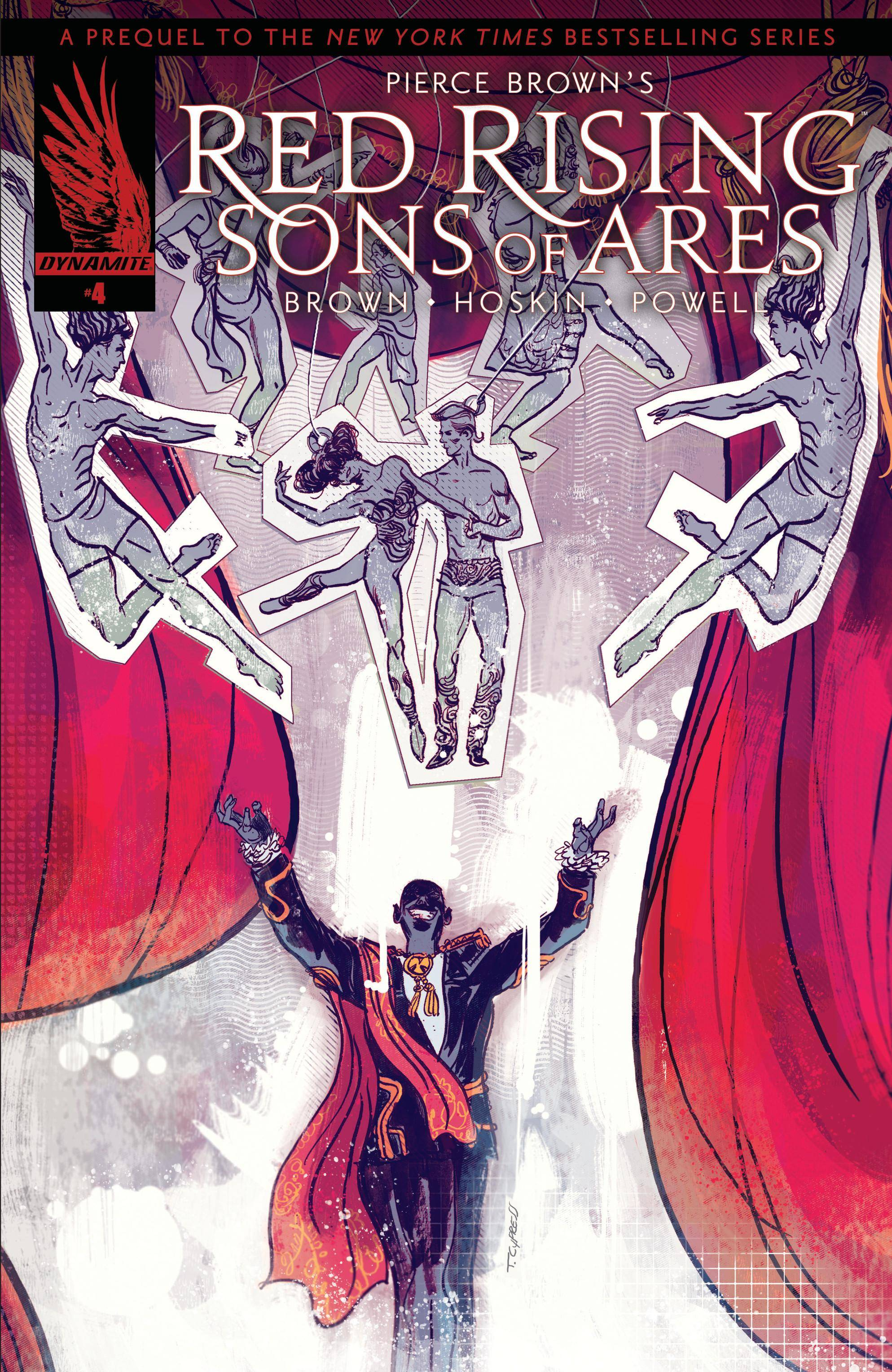 Pierce Browns Red Rising - Sons of Ares 004 2017 2 covers