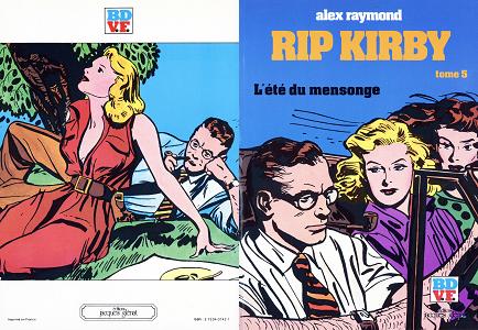 Rip Kirby - Tome 5 - L'été du Mensonge