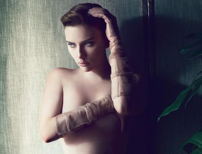Scarlett Johansson by Solve Sundsbo for Interview December 2011
