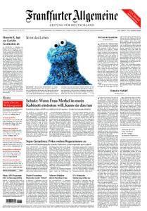 Frankfurter Allgemeine Zeitung F.A.Z. - 12. September 2017