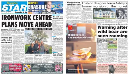 Shropshire Star North County Edition – April 20, 2019