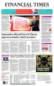 Financial Times UK – July 16, 2019