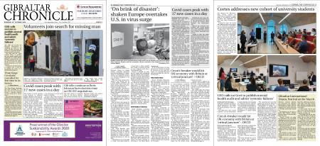 Gibraltar Chronicle – 15 October 2020