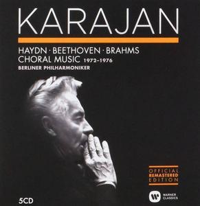 Herbert Von Karajan - Haydn, Beethoven, Brahms: Choral Music 1972-1976 (2014) (5 CDs Box Set)