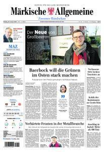 Märkische Allgemeine Zossener Rundschau - 29. Januar 2018