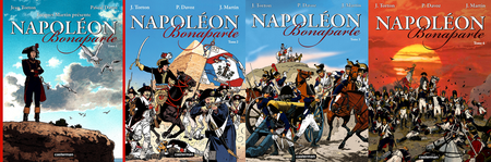 Napoléon Bonaparte - 4 Tomes