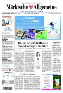 Neue Oranienburger Zeitung - 05. Januar 2019