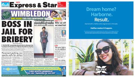 Express and Star City Edition – July 01, 2019