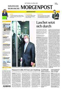 Bergische Morgenpost – 21. April 2021
