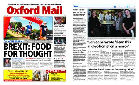 Oxford Mail – May 13, 2019