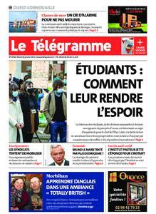 Le Télégramme Ouest Cornouaille – 26 janvier 2021
