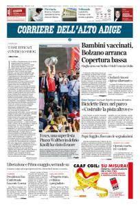 Corriere dell'Alto Adige - 25 Aprile 2018