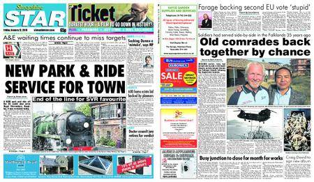 Shropshire Star Shrewsbury Edition – January 12, 2018