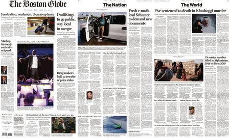 The Boston Globe – December 24, 2019