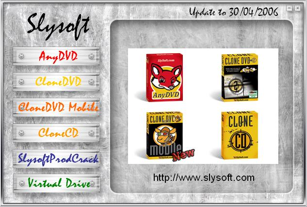 Slysoft Programs with SND Cr. 1.29 (UPDATE to 30/04/2006)