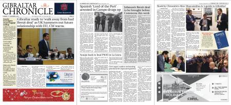 Gibraltar Chronicle – 17 December 2019