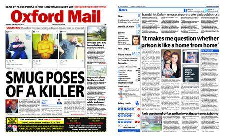 Oxford Mail – February 20, 2018