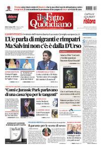 Il Fatto Quotidiano - 08 giugno 2019