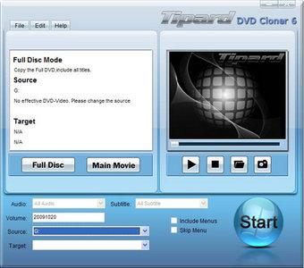 Tipard DVD Cloner 6.1.16
