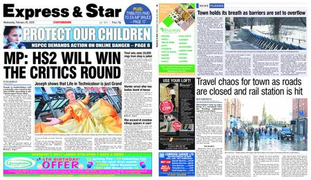 Express and Star Staffordshire Edition – February 26, 2020