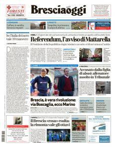 Brescia Oggi - 12 Ottobre 2017