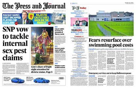 The Press and Journal Moray – October 31, 2017