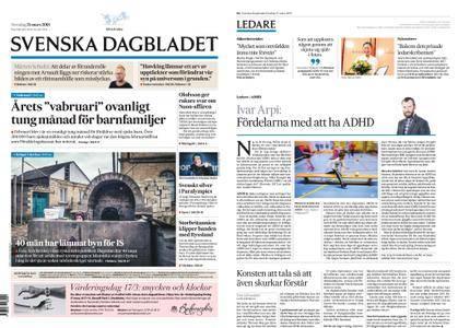 Svenska Dagbladet – 15 mars 2018