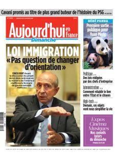 Aujourd'hui en France du Dimanche 14 Janvier 2018