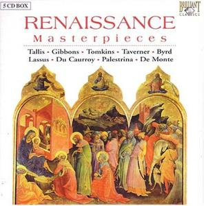 The Choir of New College Oxford - Renaissance Masterpieces - 5 CD Box