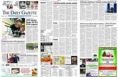 The Daily Gazette – December 15, 2018