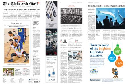 The Globe and Mail – June 11, 2019