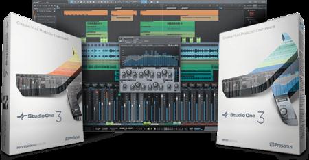 PreSonus Studio One 3 Professional v3.5.0 WiN / OSX