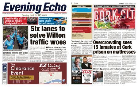 Evening Echo – February 21, 2019