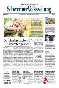 Schweriner Volkszeitung Hagenower Kreisblatt - 20. September 2018