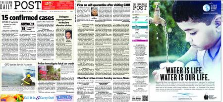 The Guam Daily Post – March 22, 2020