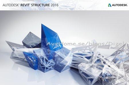 Autodesk Revit Structure 2016 (x64) ISO