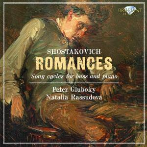 Shostakovich - Romances, Songs Cycles for Bass and Piano (2011) {Brilliant Classics 9222 rec 1994}