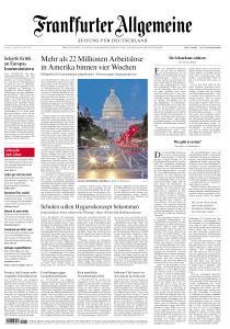 Frankfurter Allgemeine Zeitung - 17 April 2020
