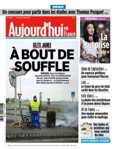 Aujourd'hui en France du Samedi 23 Février 2019