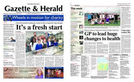 Gazette & Herald – September 21, 2017