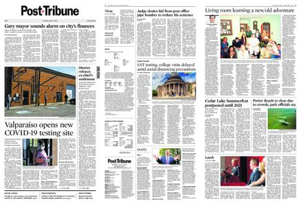 Post-Tribune – May 07, 2020