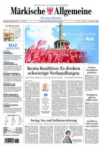 Märkische Allgemeine Westhavelländer - 08. Oktober 2019