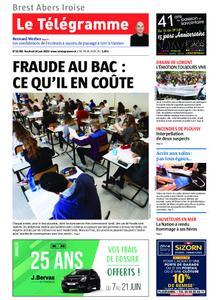 Le Télégramme Brest Abers Iroise – 14 juin 2019
