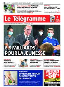 Le Télégramme Brest Abers Iroise – 24 juillet 2020