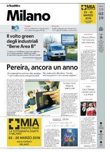 la Repubblica Milano - 19 Marzo 2019